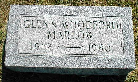 MARLOW, GLENN WOODFORD - Boone County, Iowa   GLENN WOODFORD MARLOW
