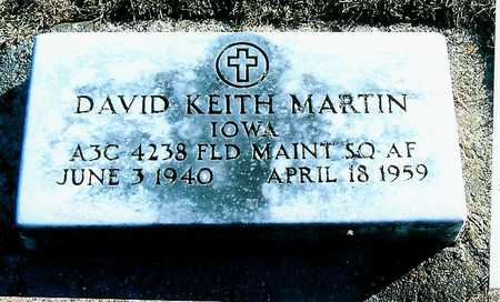 MARTIN, DAVID KEITH - Boone County, Iowa | DAVID KEITH MARTIN