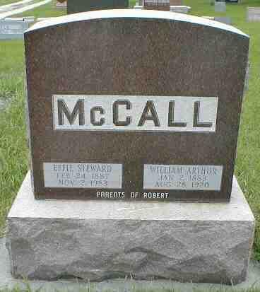 STEWARD MCCALL, EFFIE - Boone County, Iowa | EFFIE STEWARD MCCALL