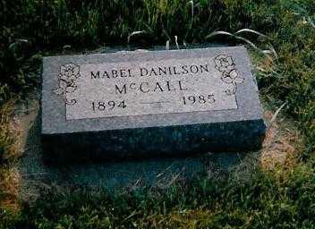 DANILSON MCCALL, MABEL - Boone County, Iowa | MABEL DANILSON MCCALL