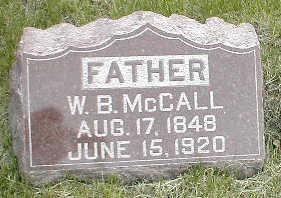 MCCALL, W. (WILLIAM) B. - Boone County, Iowa | W. (WILLIAM) B. MCCALL