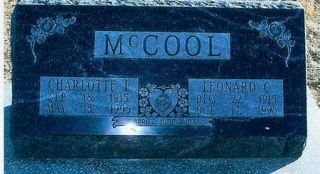 MCCOOL, CHARLOTTE E. - Boone County, Iowa   CHARLOTTE E. MCCOOL