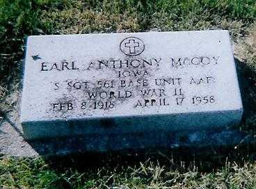 MCCOY, EARL ANTHONY - Boone County, Iowa | EARL ANTHONY MCCOY