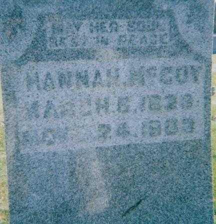 MCCOY, HANNAH - Boone County, Iowa   HANNAH MCCOY