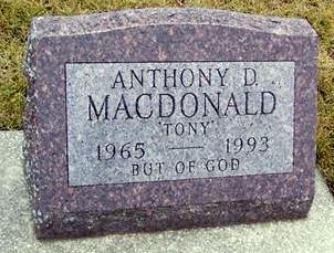 MCDONALD, ANTHONY D. 'TONY' - Boone County, Iowa | ANTHONY D. 'TONY' MCDONALD