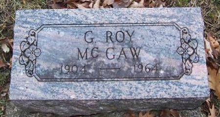 MCGAW, G. ROY - Boone County, Iowa | G. ROY MCGAW