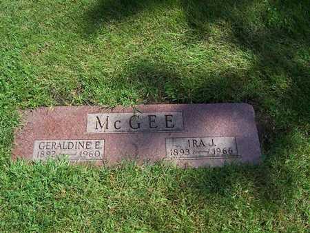 MCGEE, GERALDINE E. - Boone County, Iowa | GERALDINE E. MCGEE