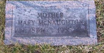 MCNAUGHTON, MARY - Boone County, Iowa   MARY MCNAUGHTON