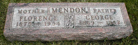 MENDON, GEORGE - Boone County, Iowa | GEORGE MENDON