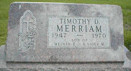 MERRIAM, TIMOTHY D. - Boone County, Iowa   TIMOTHY D. MERRIAM