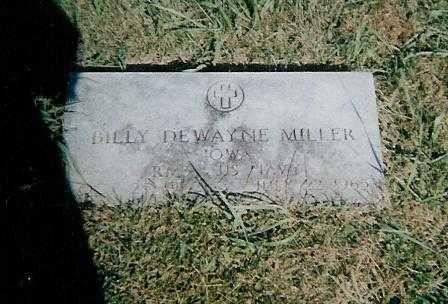 MILLER, BILLY DEWAYNE - Boone County, Iowa   BILLY DEWAYNE MILLER