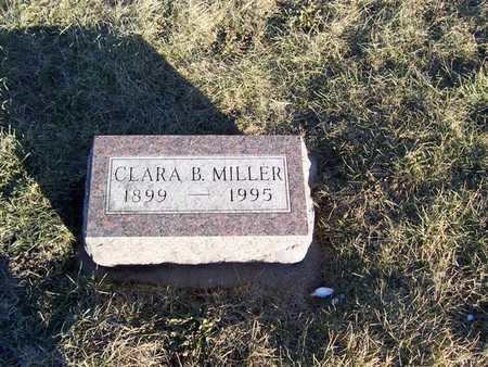 MILLER, CLARA B. - Boone County, Iowa   CLARA B. MILLER