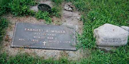MILLER, ERNEST - Boone County, Iowa   ERNEST MILLER
