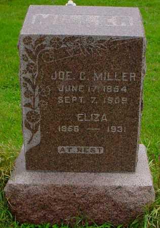 MILLER, ELIZA - Boone County, Iowa   ELIZA MILLER