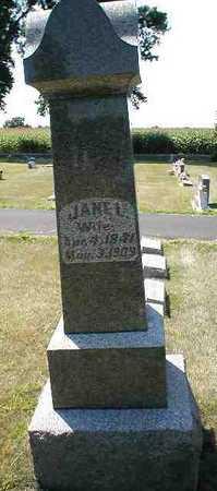 MILLER, JANE L. - Boone County, Iowa   JANE L. MILLER