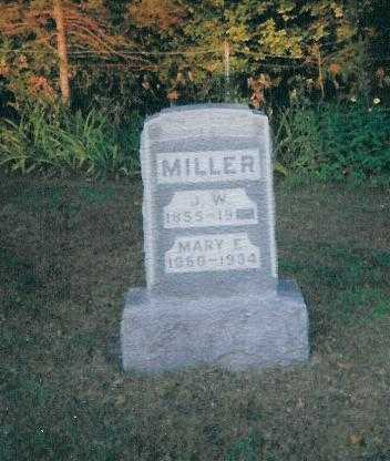 MILLER, MARY E. - Boone County, Iowa | MARY E. MILLER