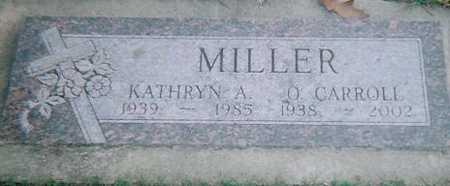 MILLER, KATHRYN A. - Boone County, Iowa   KATHRYN A. MILLER