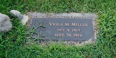 MILLER, VIOLA M. - Boone County, Iowa   VIOLA M. MILLER