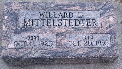 MITTELSTEDTER, WILLARD L. - Boone County, Iowa | WILLARD L. MITTELSTEDTER
