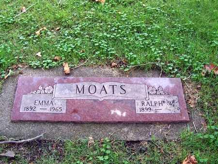 MOATS, RALPH W. - Boone County, Iowa   RALPH W. MOATS