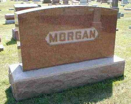 MORGAN, FAMILY MONUMENT - Boone County, Iowa | FAMILY MONUMENT MORGAN