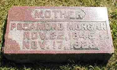 MORGAN, ROSAMOND - Boone County, Iowa | ROSAMOND MORGAN