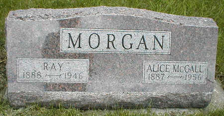 MCCALL MORGAN, ALICE - Boone County, Iowa | ALICE MCCALL MORGAN