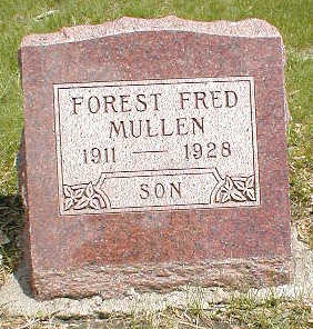MULLEN, FOREST FRED - Boone County, Iowa | FOREST FRED MULLEN