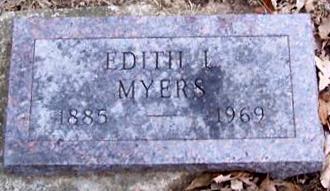 MYERS, EDITH - Boone County, Iowa | EDITH MYERS