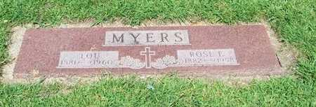 MYERS, ROSE E. - Boone County, Iowa   ROSE E. MYERS