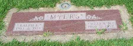 MYERS, HELEN N. - Boone County, Iowa | HELEN N. MYERS
