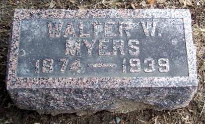 MYERS, WALTER W. - Boone County, Iowa | WALTER W. MYERS