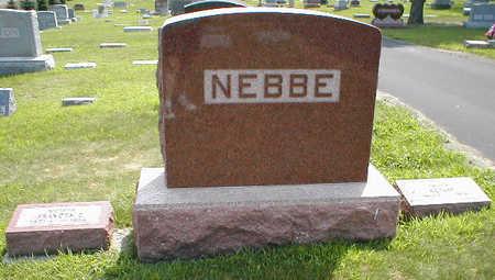 NEBBE, FAMILY - Boone County, Iowa | FAMILY NEBBE
