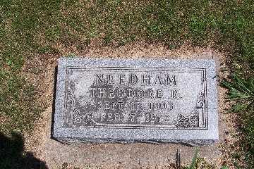 NEEDHAM, THEODORE R. - Boone County, Iowa | THEODORE R. NEEDHAM