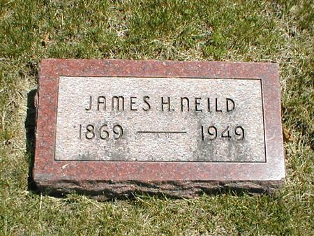 NEILD, JAMES H. - Boone County, Iowa   JAMES H. NEILD