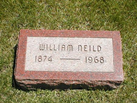NEILD, WILLIAM - Boone County, Iowa | WILLIAM NEILD