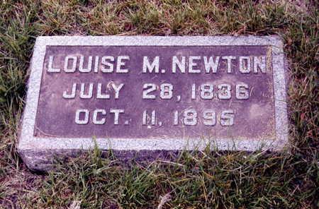 NEWTON, LOUISE - Boone County, Iowa | LOUISE NEWTON