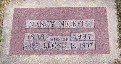 NICKELL, LLOYD E. - Boone County, Iowa | LLOYD E. NICKELL