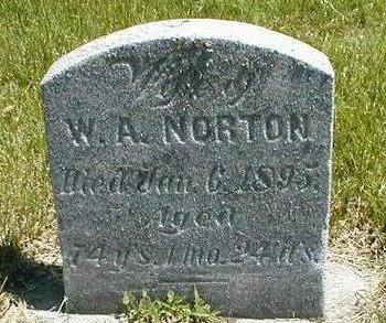 NORTON, W.A. - Boone County, Iowa | W.A. NORTON