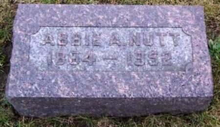 NUTT, ABBIE A. - Boone County, Iowa | ABBIE A. NUTT