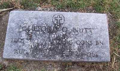NUTT, CLIFFORD O. - Boone County, Iowa | CLIFFORD O. NUTT