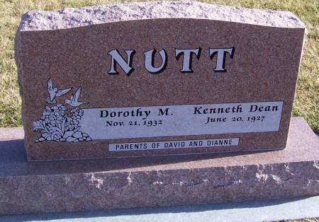 NUTT, KENNETH DEAN - Boone County, Iowa | KENNETH DEAN NUTT
