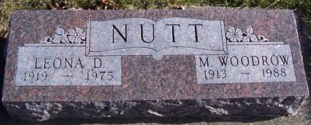 NUTT, M. WOODROW - Boone County, Iowa | M. WOODROW NUTT
