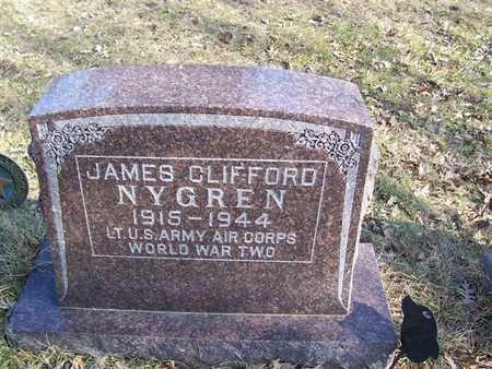NYGREN, JAMES CLIFFORD - Boone County, Iowa | JAMES CLIFFORD NYGREN