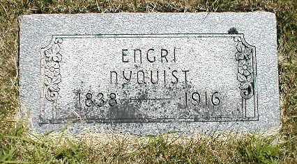 NYQUIST, ENGRI - Boone County, Iowa   ENGRI NYQUIST