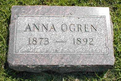 OGREN, ANNA - Boone County, Iowa | ANNA OGREN