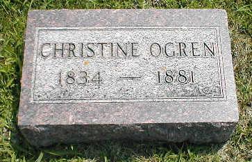 OGREN, CHRISTINE - Boone County, Iowa | CHRISTINE OGREN