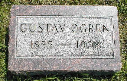 OGREN, GUSTAV - Boone County, Iowa | GUSTAV OGREN