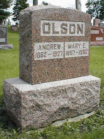 OLSON, ANDREW - Boone County, Iowa   ANDREW OLSON