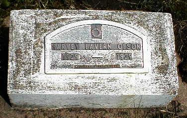OLSON, HARVEY LAVERN - Boone County, Iowa | HARVEY LAVERN OLSON